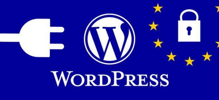 Cookies y protección de datos WordPress